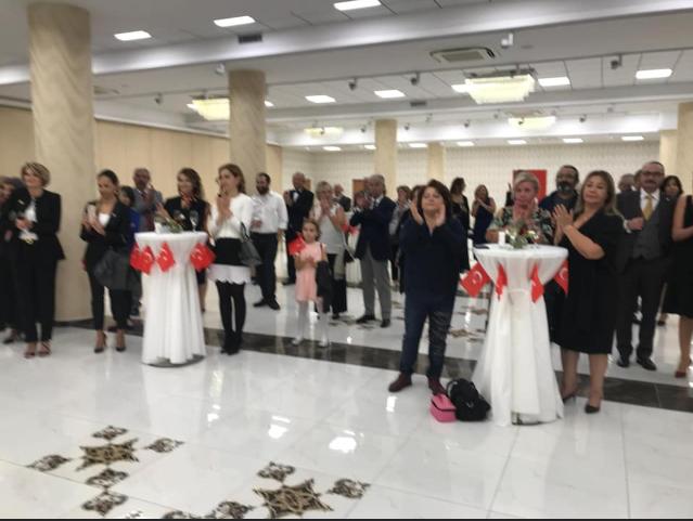 Cumhuriyetimizin 95. Yılını Yenişehir Atatürk Kültür Merkezi'nde kutladık.